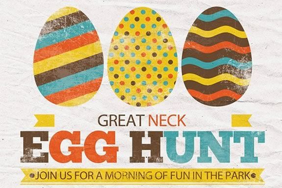The Great Neck Easter Egg Hunt is open to all! Registration Required!