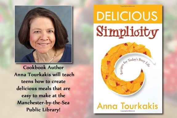 Teens will learn how to make simple meals that taste great with Anna Tourkakis!