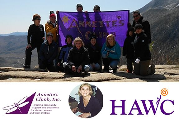 Annettes Climb to support HAWC NorthShore MA