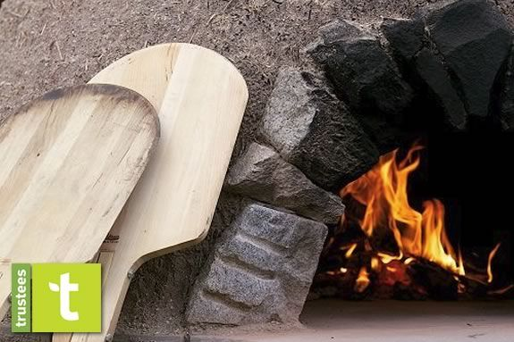 :earn to bake bread with fire at this 'Appleton Cooks' workshop at the Trustees of Reservations' Appleton Farms in Ipswich Massachusetts!