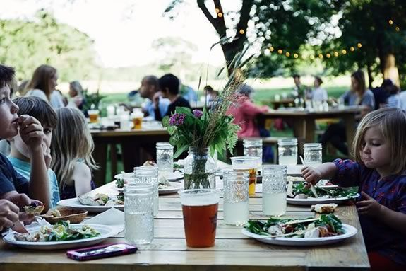 Come to Appleton Farms for a meal grown and cooked right on site!