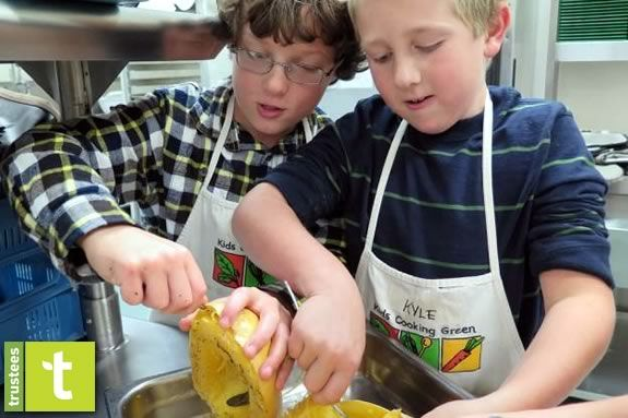Kids in the Kitchen Afternoon Cooking Series at Appleton Farms in Ipswich Massachusetts!