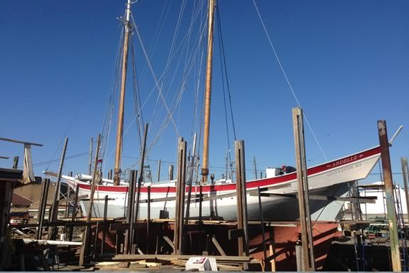 Schooner Ardelle will be launched at Maritime Gloucester on April 27 at 12:30!
