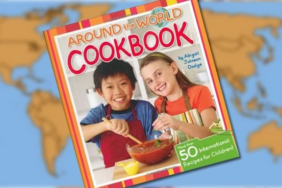Check out the Around the World Cookbook for kids, make a recipe and bring to Sawyer Free Library to discuss!