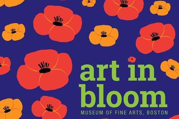 Art in Bloom at MFA - Boston