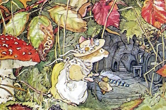 Join the mice of Brambly Hedge as they scramble to get ready for winter!