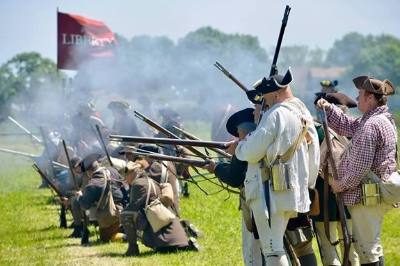 Come see a historical demonstration of militia encampment and battle demonstrations at Spencer Pierce Little Farm.