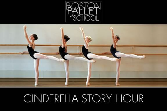 Members of the Boston Ballet School will perform a story hour at Sawyer Free Lib