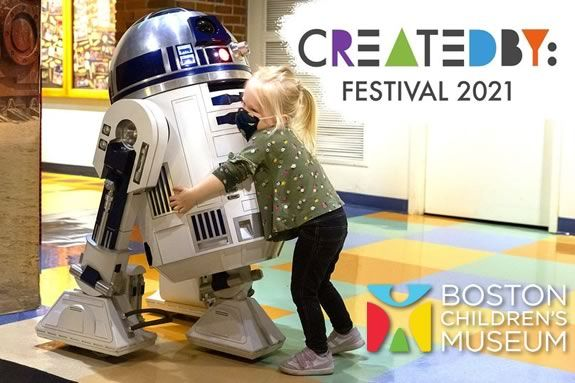 Explorers, experimenters, and curious learners will have a blast at Boston Children's Museum's Created By Festival