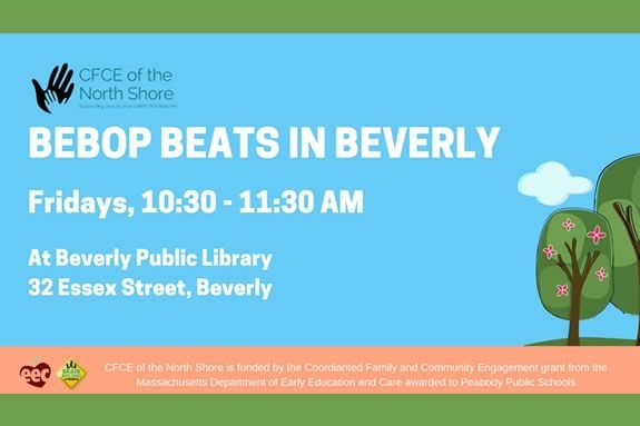 Bepob Beats Music and movement program for kids at the Beverly Public Library