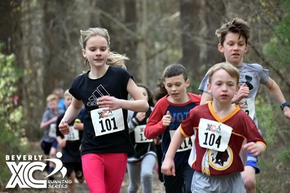 Beverly Cross Country Running Series for school-aged kids at North Beverly Elementary school Massachusetts