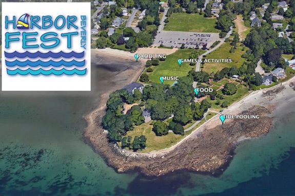 Families are invited to the Beverly Harbor Fest for an afternoon of family fun at lynch park iun Beverly Massachusetts