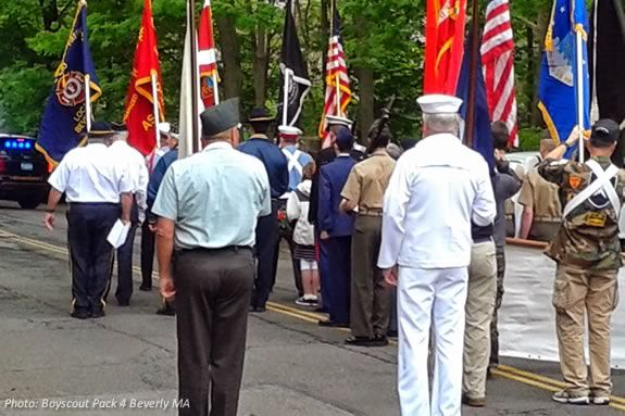 Beverly Massachusetts Memorial Day Ceremonies