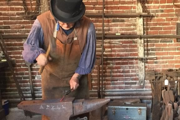 Step back in time with Lawrence History Center for a day of blacksmithing at the Essex Company forge, the company that built the city of Lawrence, Massachusetts!