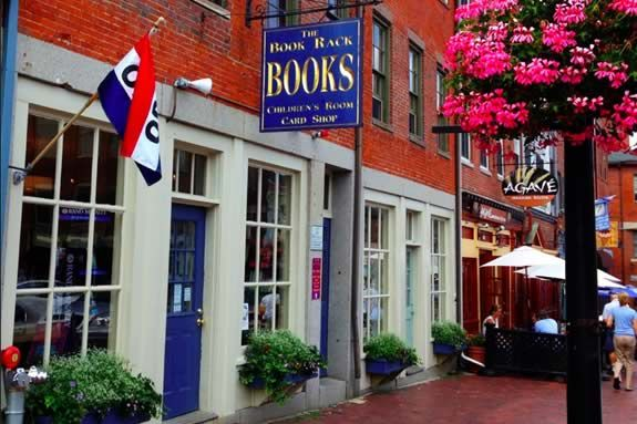 Book Rack Book Store in Newburyport MA. Great book store for children story hour