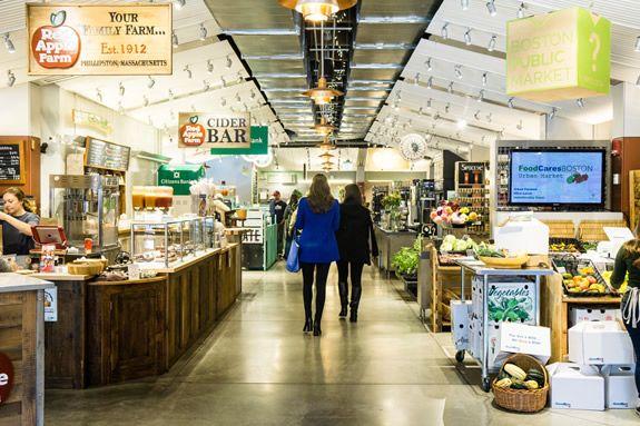 Boston Public Market - Boston