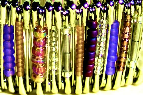 Teens will learn how to use beads and safety pins to create jewelry at NPL