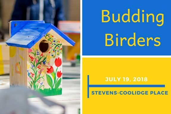 Come learn about birding at the Trustees of Reservations' Stevens-Coolidge Estate in North Andover