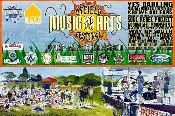 Byfield Community Arts Center fundraiser Music & Arts Festival