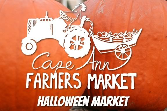 The Cape Ann Farmers Market hosts a Halloween market at the UU Church on Middle Street in Gloucester, Massachusetts!