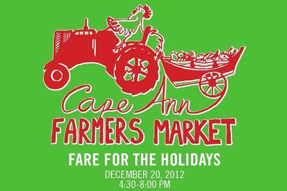 Cape Ann Farmers Market Holiday at the Universal Unitarian Church!