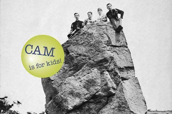 CAM Kids at Cape Ann Museum Building Blocks for Learning: Granite Gloucester Massachusetts