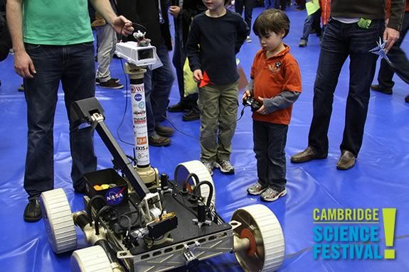 See, touch, smell, hear, and taste science in new and exciting ways at the Cambridge Science Carnival