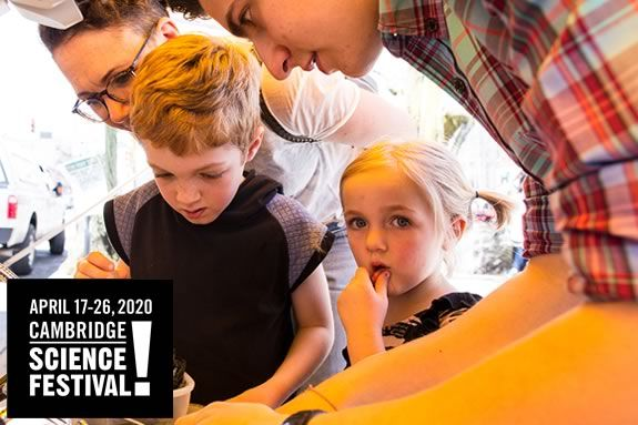 The Cambridge Science Festival makes science accessible, interactive and fun during April Vacation Week!