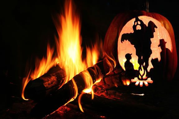 Have a campfire story experience at Marini Farms in Ipswich!