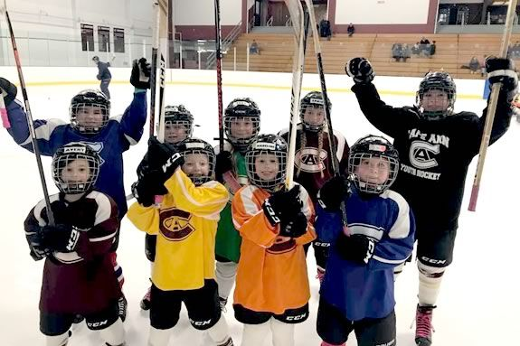 Cape Ann Girls Hockey hosts an open house at the Dorothy Talbot Rink in Gloucester