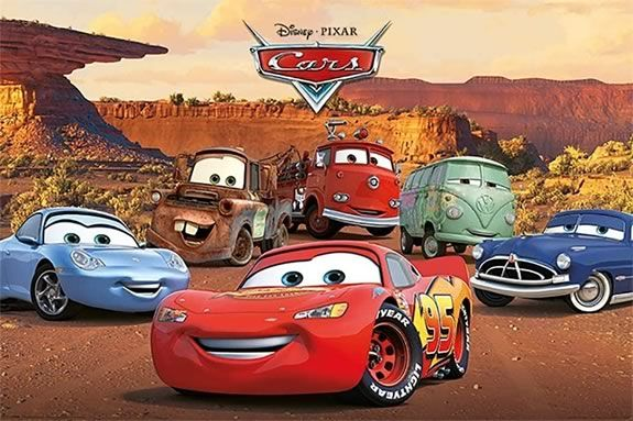 Disney Pixar Cars at tthe Plum Island Drive-In in Newburyport Massachusetts