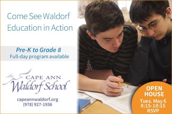 Cape Ann Waldorf School Grades Tour, Independent school, Beverly MA