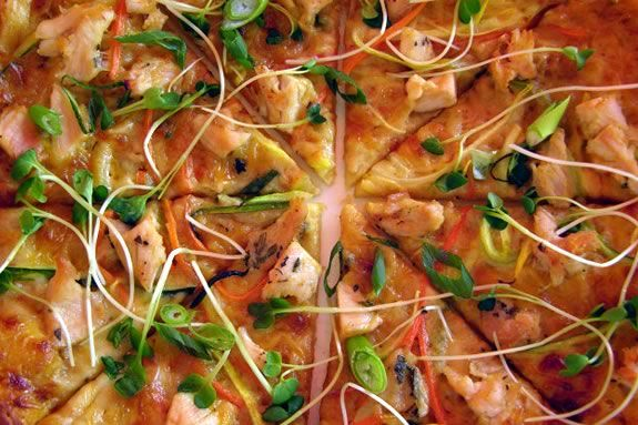 Try pizza form local area places and raise funds for local orgs at the pizza fes