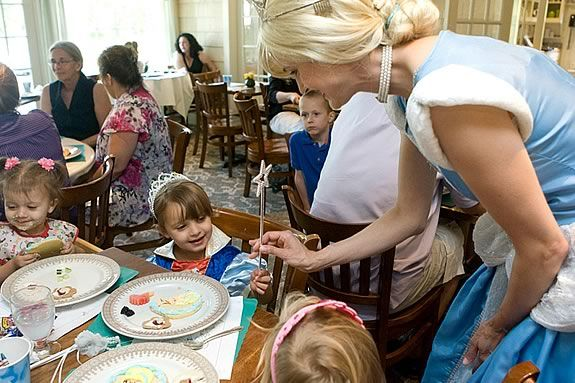 Have tea with a princess at the Wenham Tea House's childrens tea!