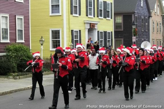 The Christmas Walk parade spotlights local businesses and organizations!