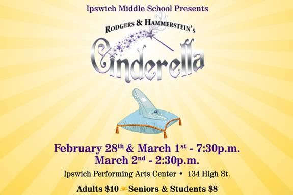 Ipswich Middle School presents Rodgers and Hammerstein's Cinderella!