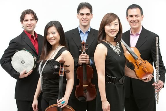 The Classical Jam Quintet will perform a FREE concert at the Sahlin Liu Rockport