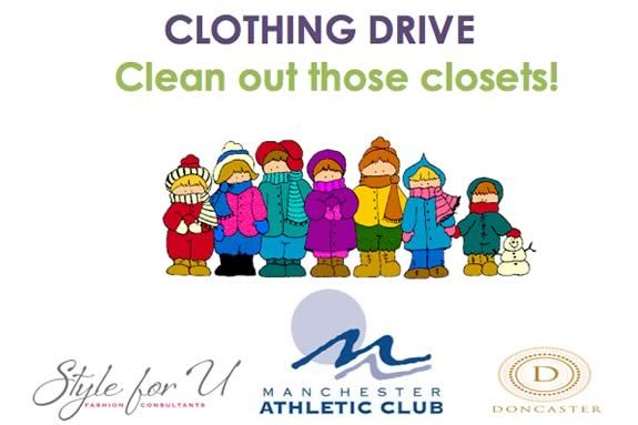 Manchester Athletic Club Clothing Drive Manchester MA Voted Best Family Athletic