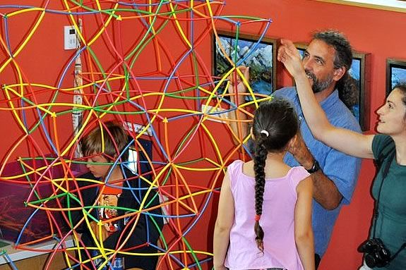 Fathers get FREE admission on Father's Day at the Children's Museum of NH