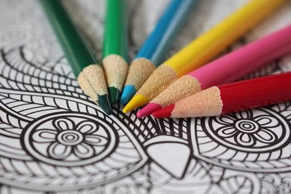 Teens are invited to TOHP_Burnham Public Library for a fun afternoon of coloring for adults!