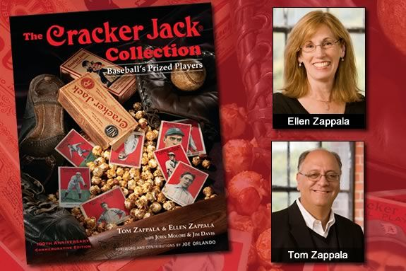Baseball's Cracker Jack Collection Authors are coming to the Manchester Public L