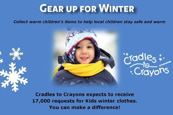 Gear Up for Winter helps kids in need stay warm during the cold months!