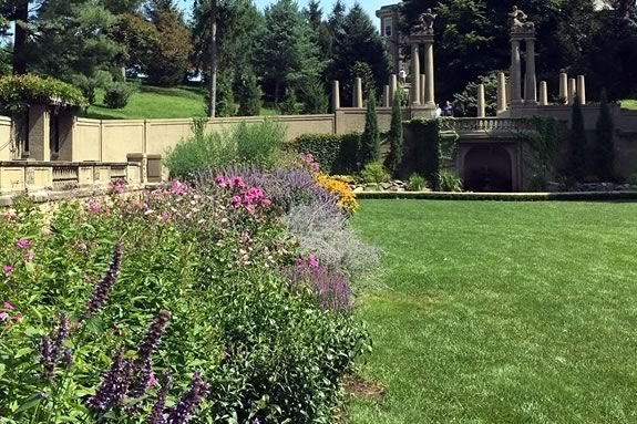 Celebrate Mother's Day in the garden at the Trustees of Reservations Castle Hill in Ipswich Massachusetts!