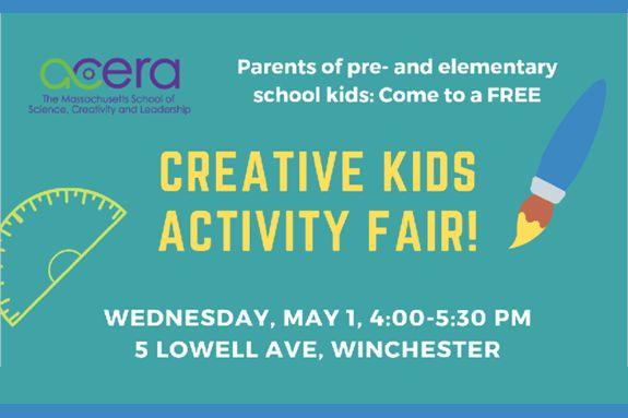 Activity Fair for Creative Kids at Acera School
