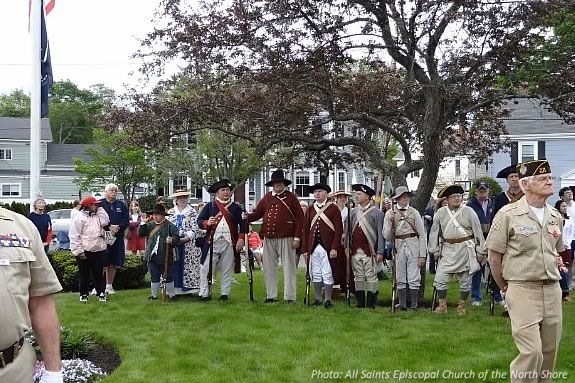 Memorial Day in Danvers MA. Photo: All Saints Episcopal Church of the North Shore