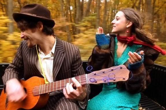 The David Wax Museum performs a  mix of of Traditional Mexican and American folk