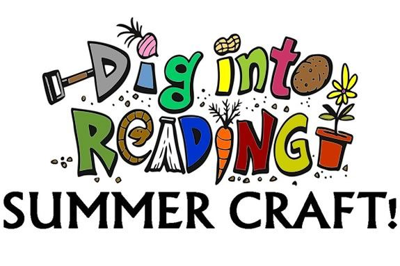 Kids will dig into their creativitiy at Sawyer Free Library! Dig into Reading