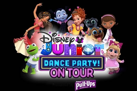 Come to the Lynn Auditorium to see Disney Jr's Dance Party live performance show!