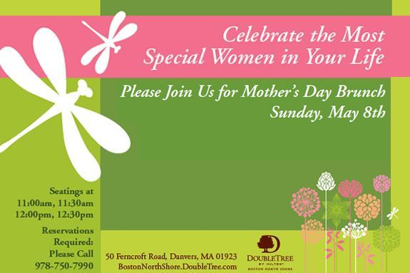 Best restaurant for Mother's Day Brunch in Danvers MA at Hilton Hotel