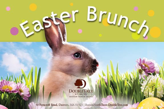 Easter Bunny Brunch, north of Boston. Families visit Massachusetts. Danvers MA,